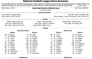 [NFL] Week 17: Gamebook di tutte le partite
