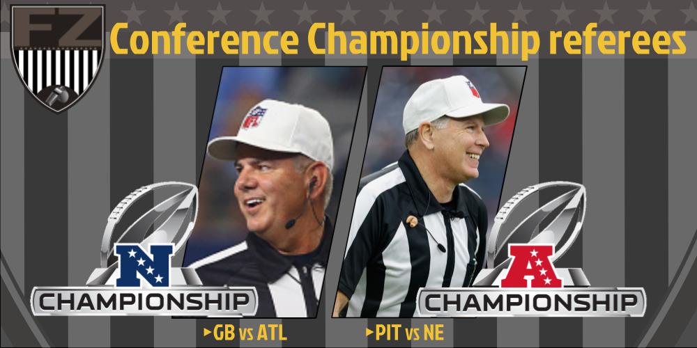 [NFL] Conference: le crew arbitrali