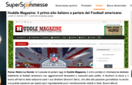 Huddle Magazine intervistato da Superscommesse.it