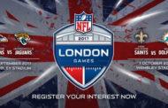Dal 31 gennaio i biglietti per le partite NFL di Wembley
