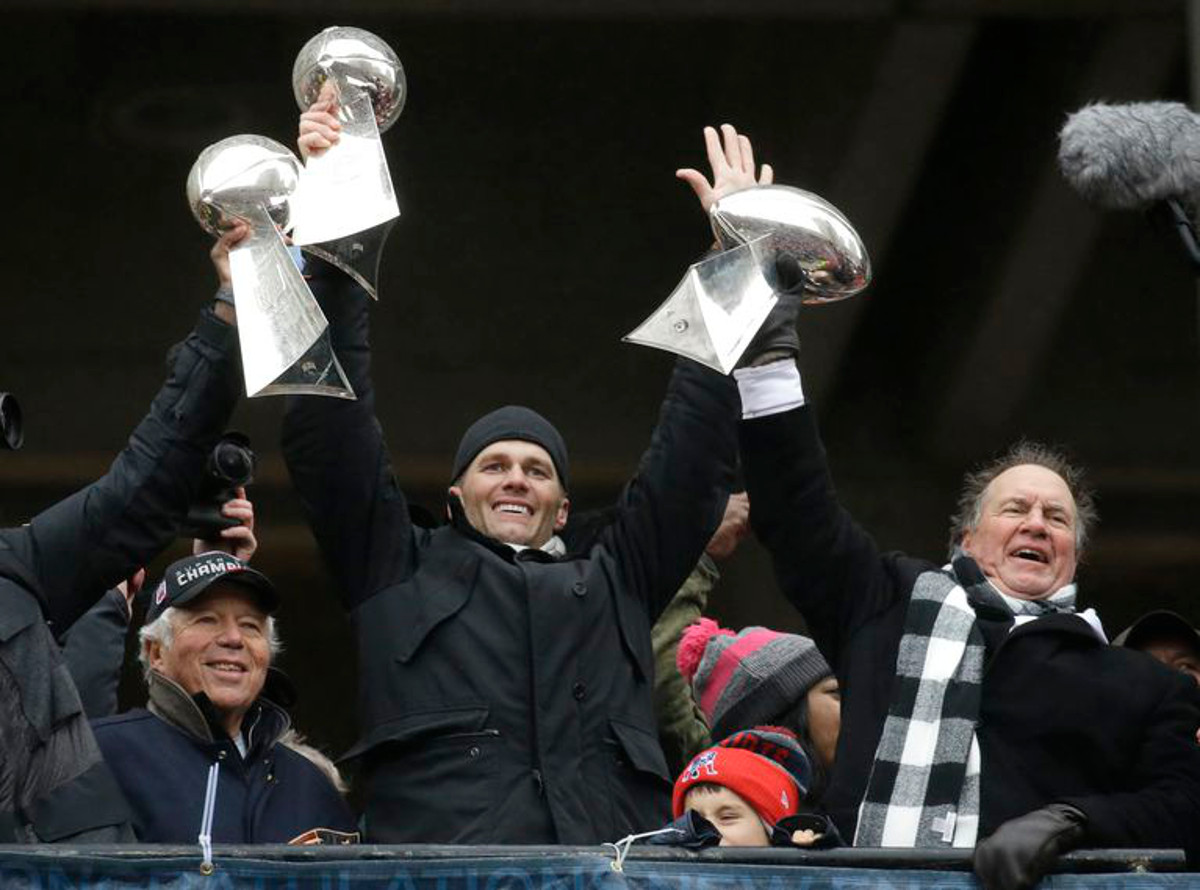 [NFL] Super Bowl LI: La parata dei New England Patriots