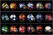 La divisa da football di alcune squadre di calcio