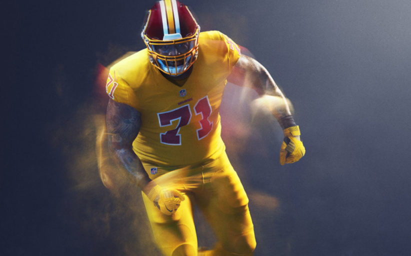 Ai Redskins non piace l'idea Color Rush