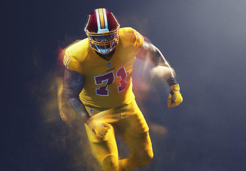 Ai Redskins non piace l'idea Color Rush