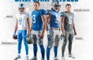 I Detroit Lions presentano le nuove divise