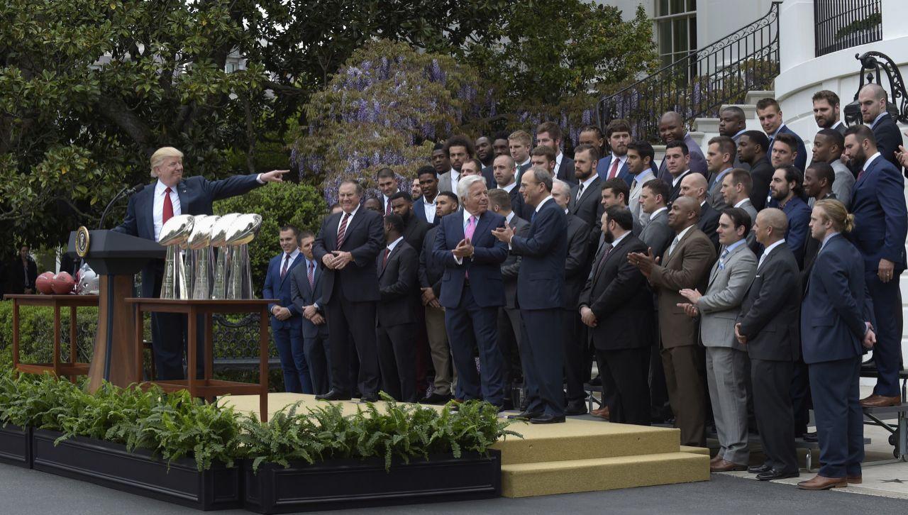 I New England Patriots alla Casa Bianca