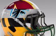 I caschi NFL con i colori della squadra rivale
