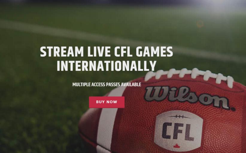 La Canadian Football League in streaming