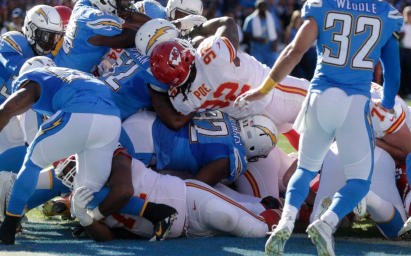I touchdown più pesanti nella NFL