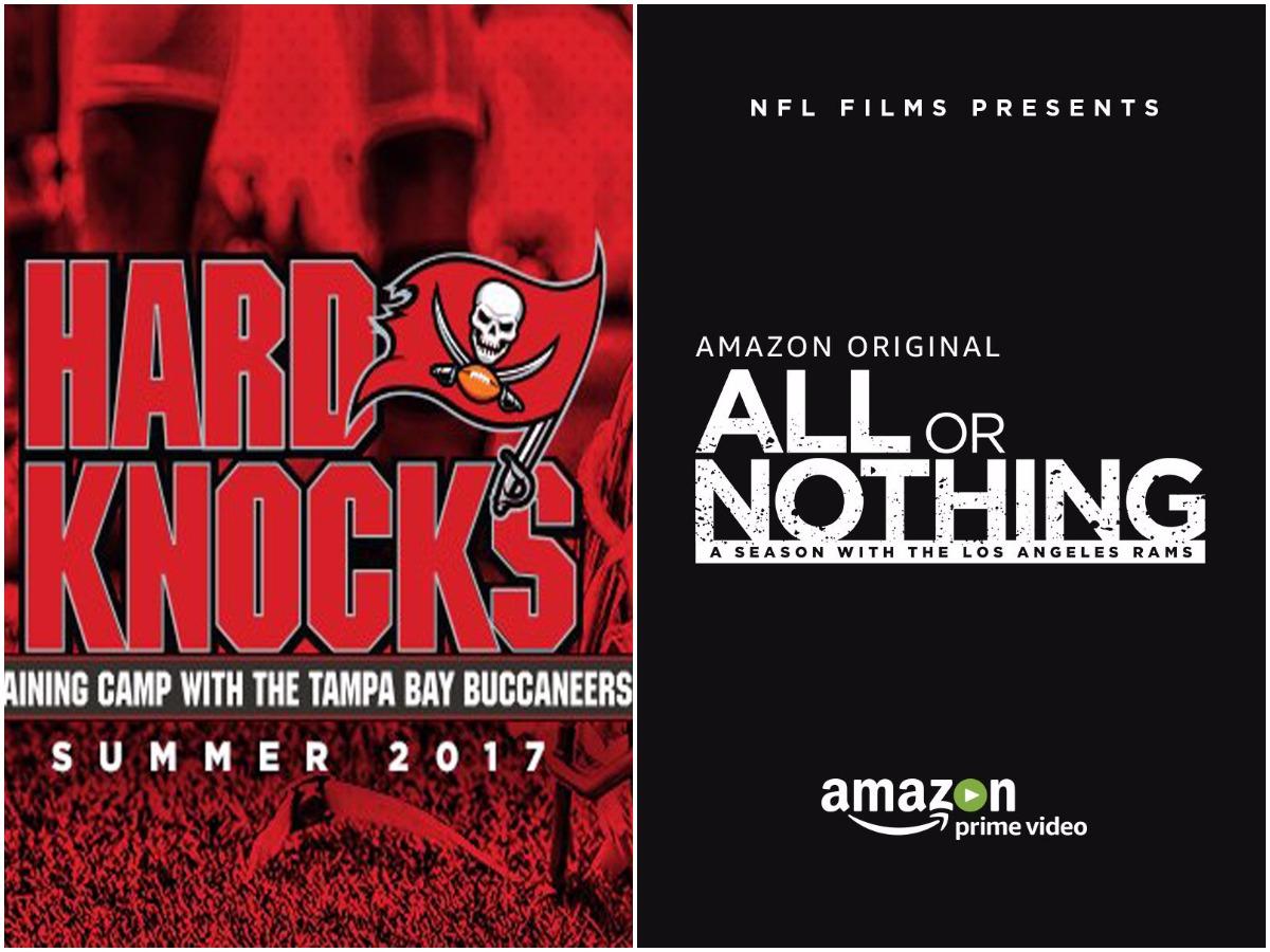 Hard Knocks e All Or Nothing, per vedere la NFL dall'interno