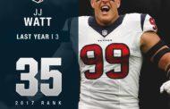 [POST-IT] JJ Watt e la NFL Top 100