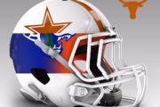I caschi NFL con i colori delle Università