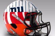 I caschi NFL con i colori NBA/MLB