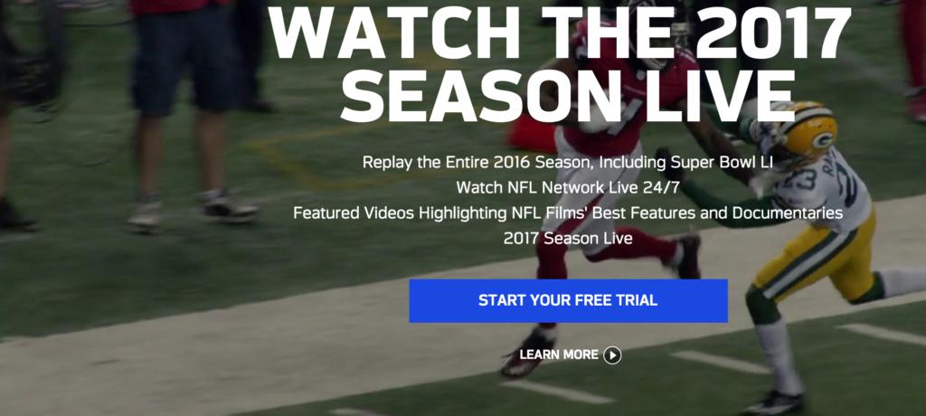 NFL Game Pass agosto