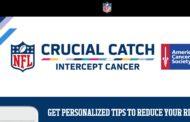 Crucial Catch, l'ottobre NFL non è più solo rosa