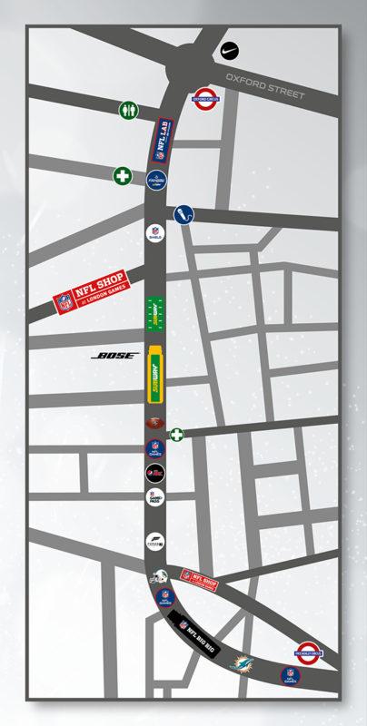 Regent Street Map