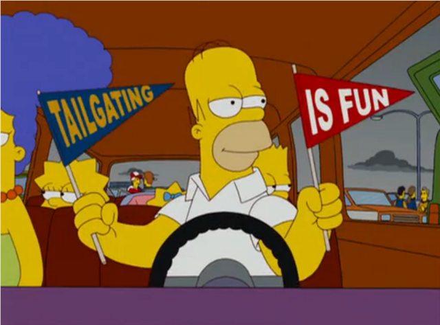 homer tailgating