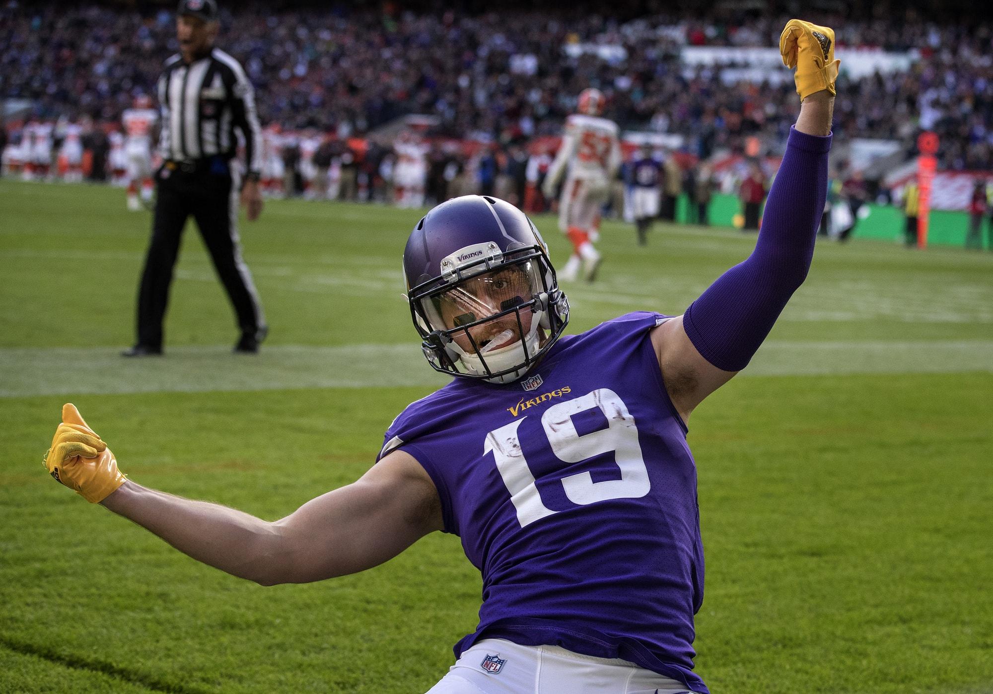 Adam Thielen, MVP dei Vikings, ex mister nessuno, 100% Minnesota