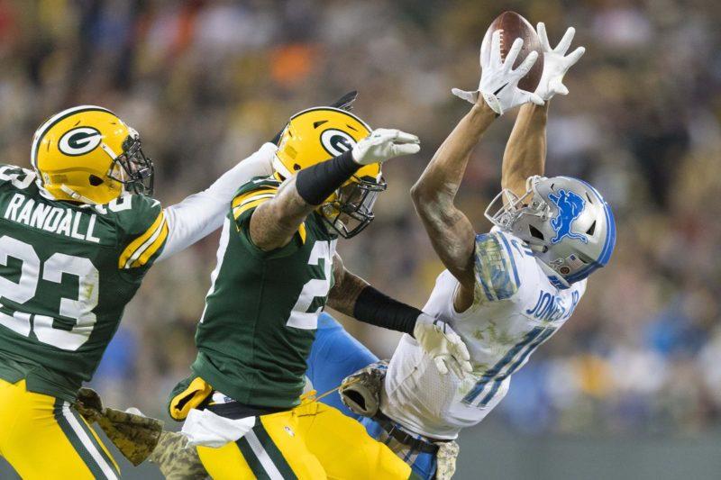 Jones Lions Packers