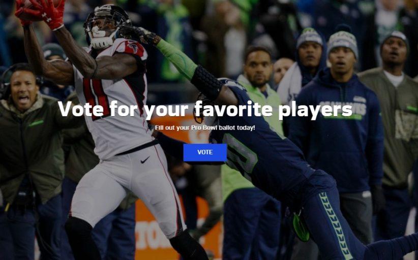 Aperte le votazioni per il Pro Bowl 2018