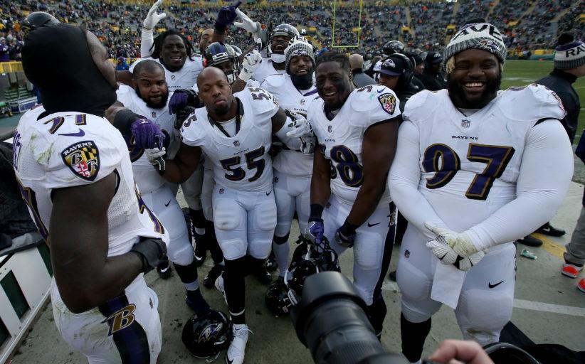 [NFL] Week 11: 100 per Harbaugh (Baltimore Ravens vs Green Bay Packers 23-0)