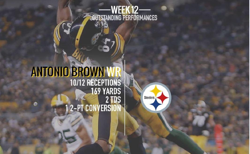 [NFL] Week 12: il meglio a livello statistico