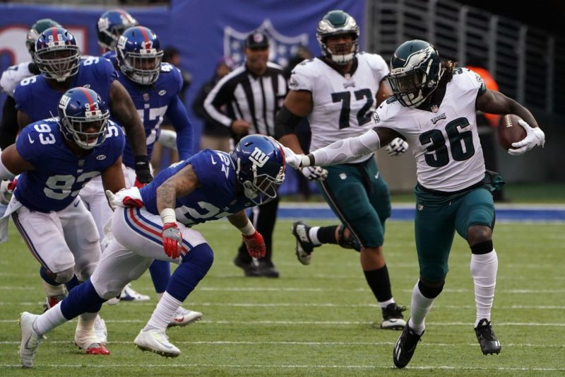 Ajayi eagles giants