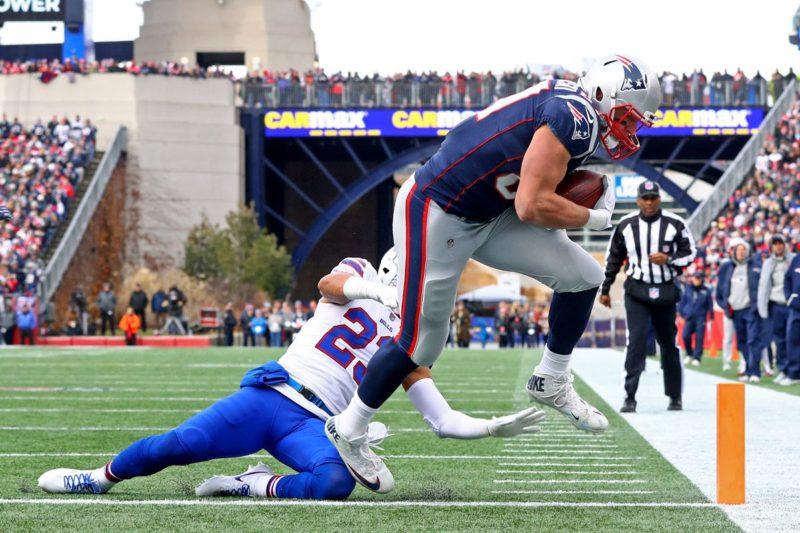 Gronkowski Patriots Bills