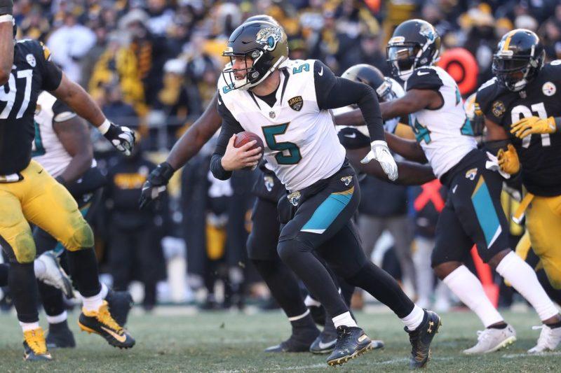 Bortles Jaguars Steelers
