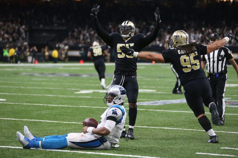 Cam Newton Panthers Saints