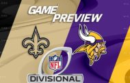 [NFL] Divisional preview: New Orleans Saints vs Minnesota Vikings