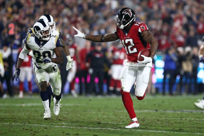 Julio Jones Falcons Rams