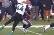 Lo strip di Myles Jack e il down by contact