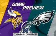 [NFL] Conference Championship preview: Minnesota Vikings vs Philadelphia Eagles
