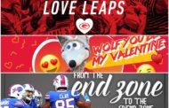 Le card di San Valentino delle squadre NFL