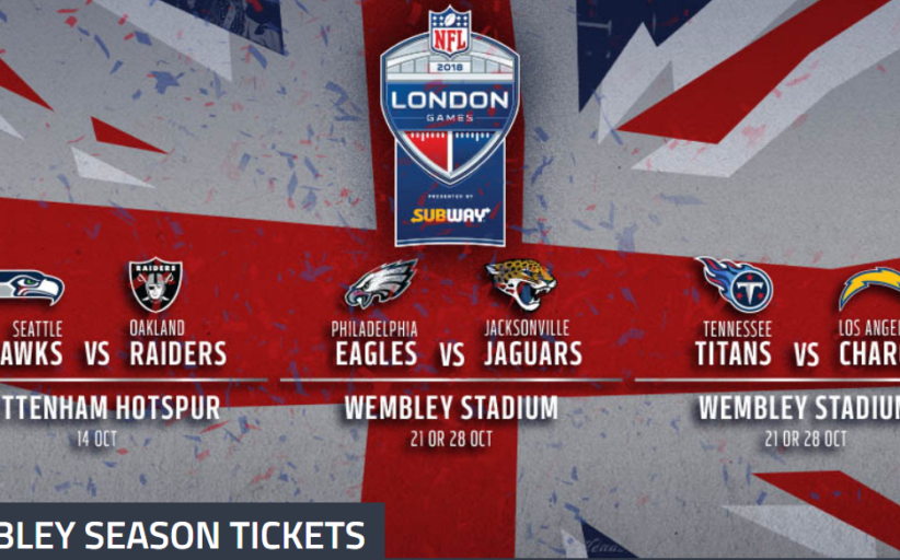 Breaking News: Raiders vs Seahawks si giocherà a Wembley