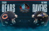 Hall of Fame Game: Baltimore Ravens e Chicago Bears inaugureranno la stagione