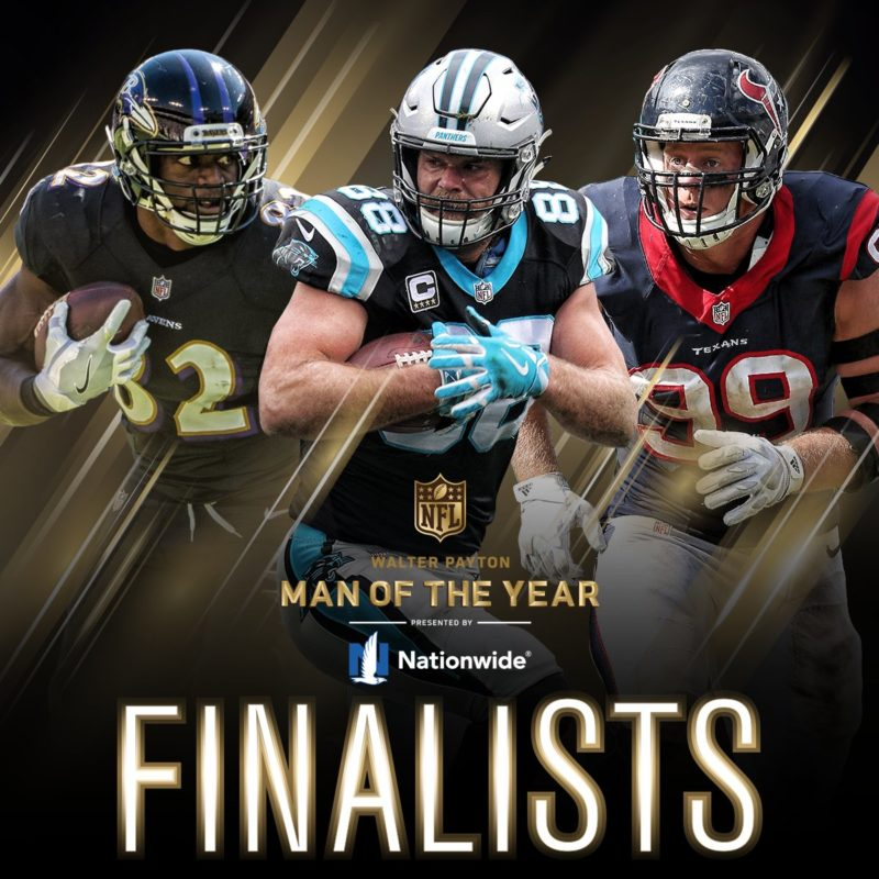 walter payton man of the year finalist