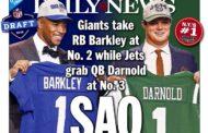 Draft 2018 - Le prime pagine dei giornali