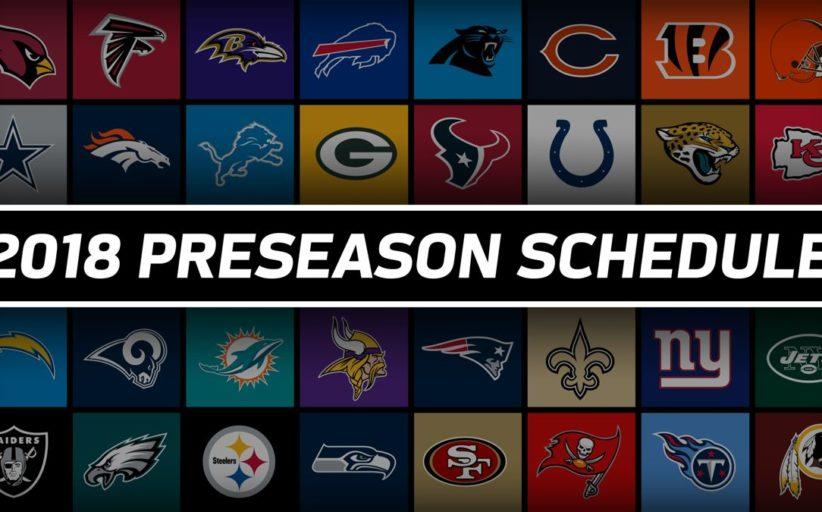 Il calendario della preseason NFL