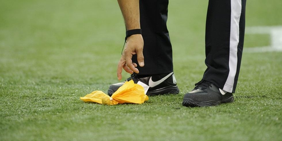 Squadre e giocatori NFL con più penalità dopo 8 giornate