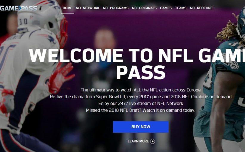 NFL Game Pass 2019: prezzo e novità