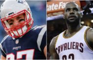 Rob Gronkowski vs LeBron James