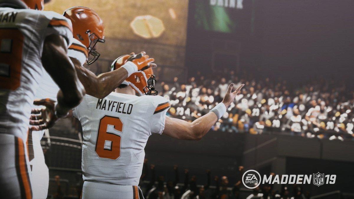 EA ha presentato Madden 19