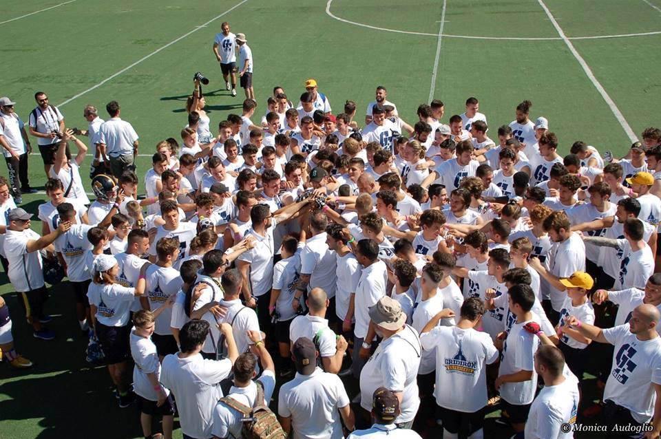 Gridiron Experience Camp: i coach di Cal, Lynch, Tavecchio e il Raiders Italia Booster Club