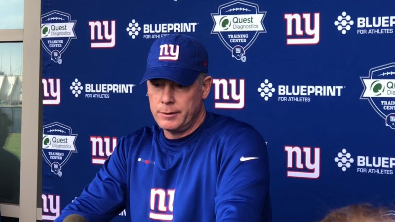 Pat Shurmur Giants
