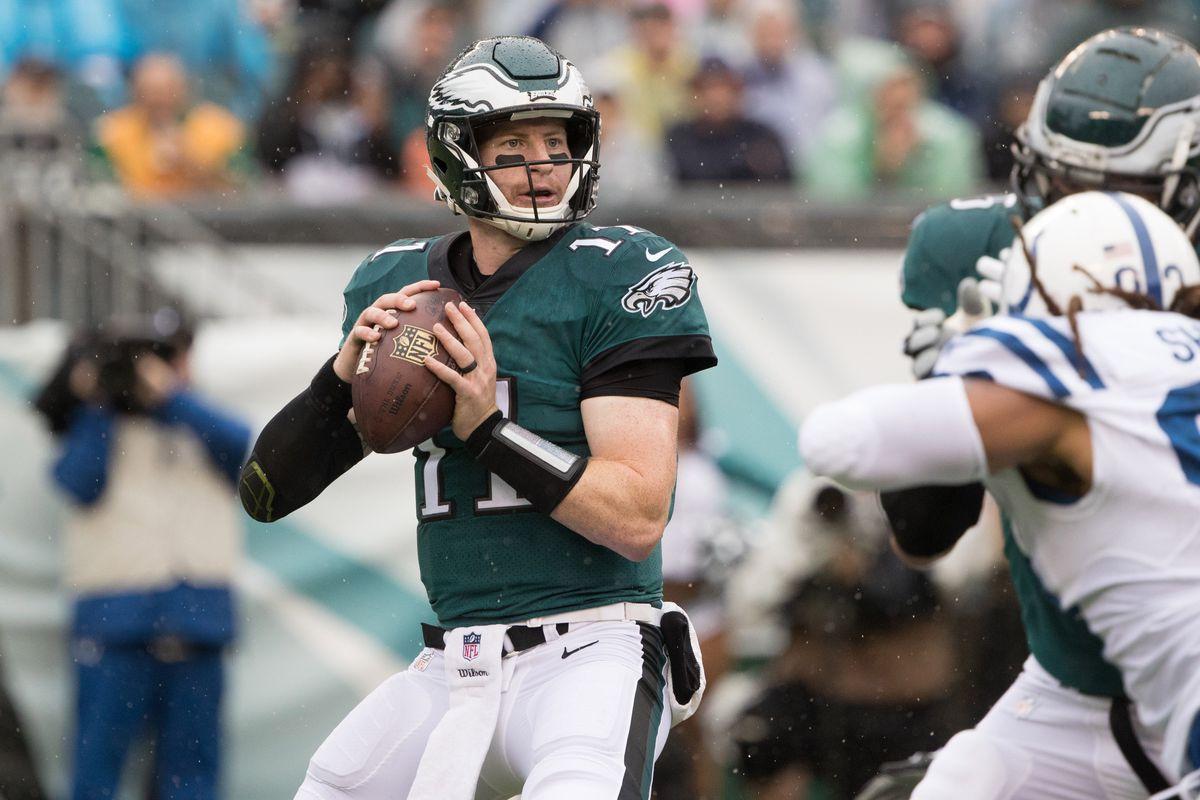 Carson Wentz rinnova con gli Eagles per 128 milioni