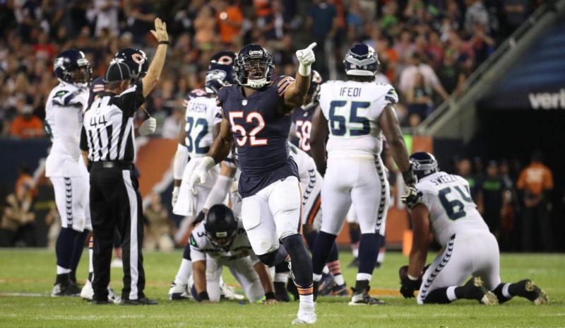 Mack Bears Seahawks