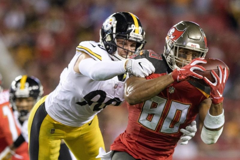 Mike Evans Buccaneers Steelers