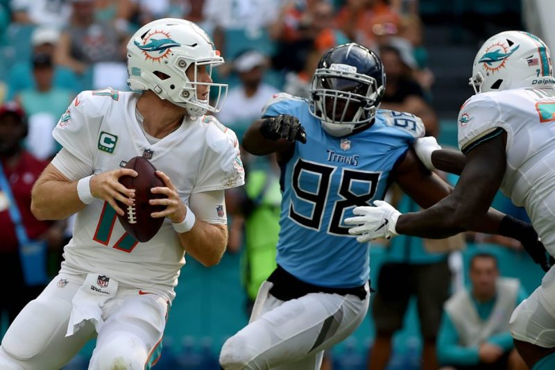 Tannehill Dolphins Titans